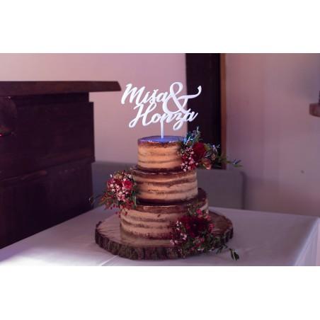 Zápich do svatebního dortu...